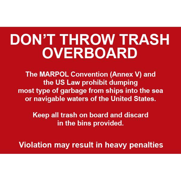 Trash Overboard