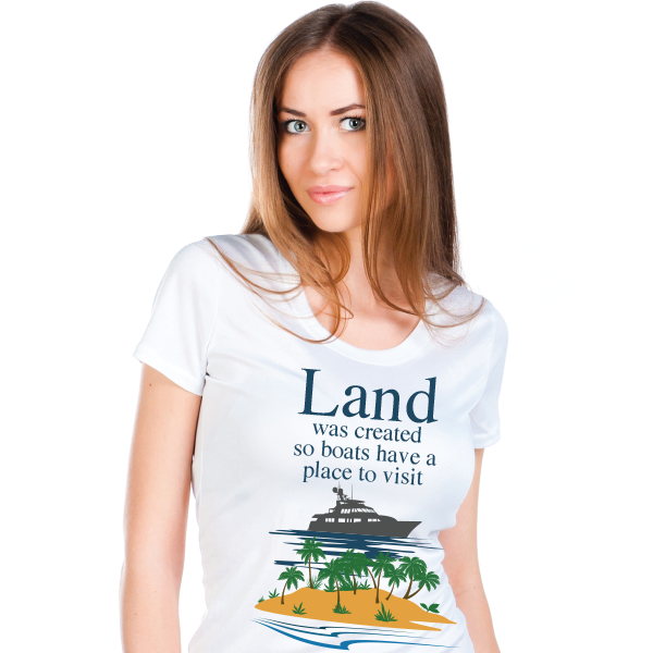Land Was Created