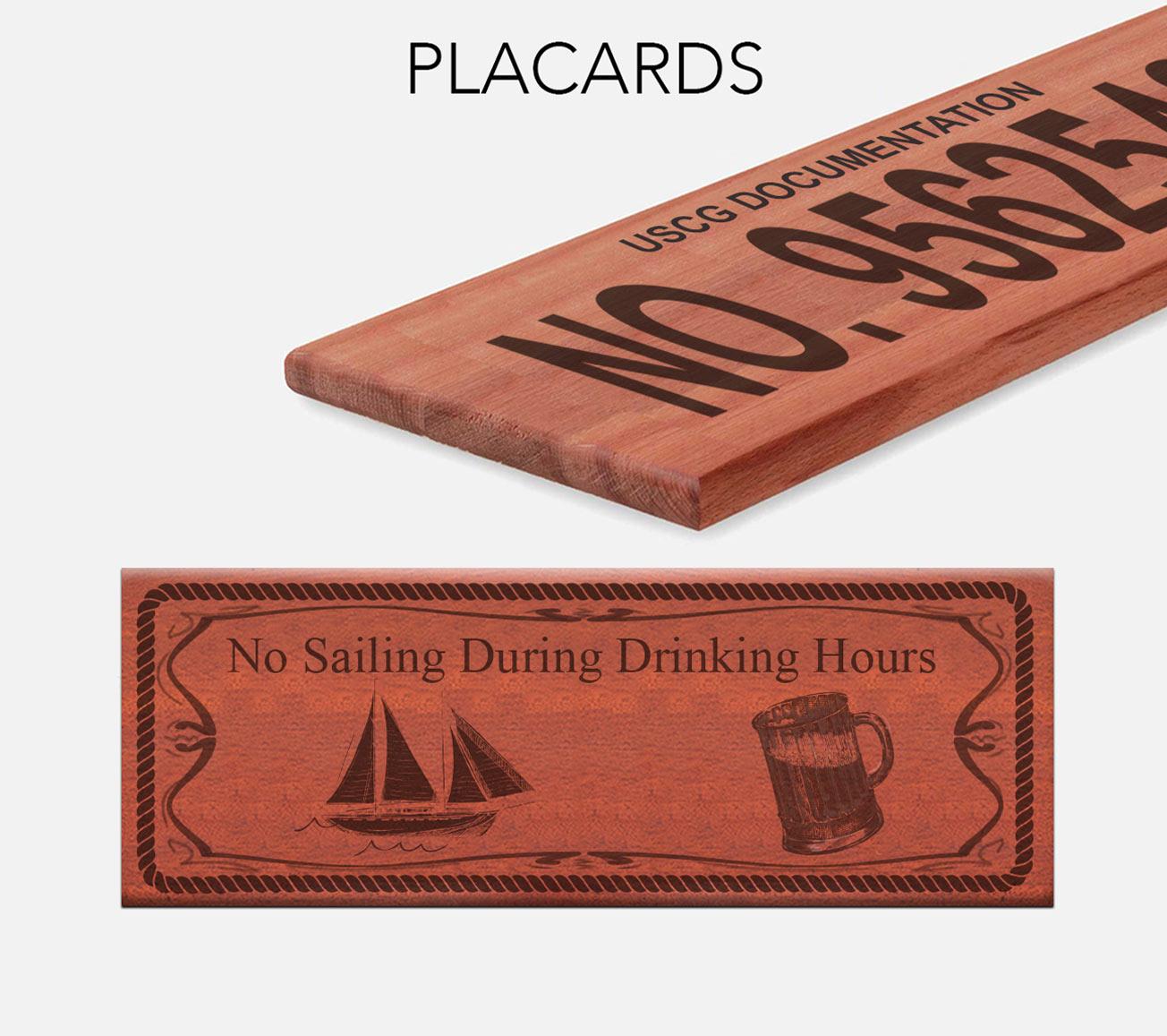 custom placards