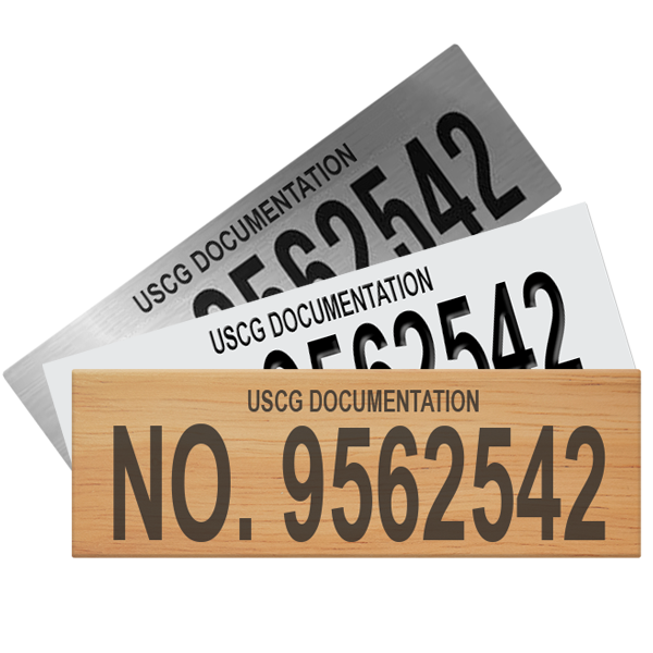 USCG Documentation Plaques
