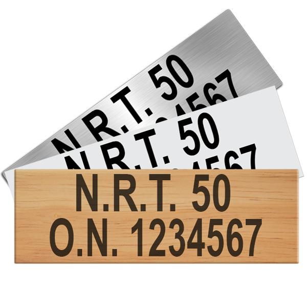 Canadian Registry Plaques
